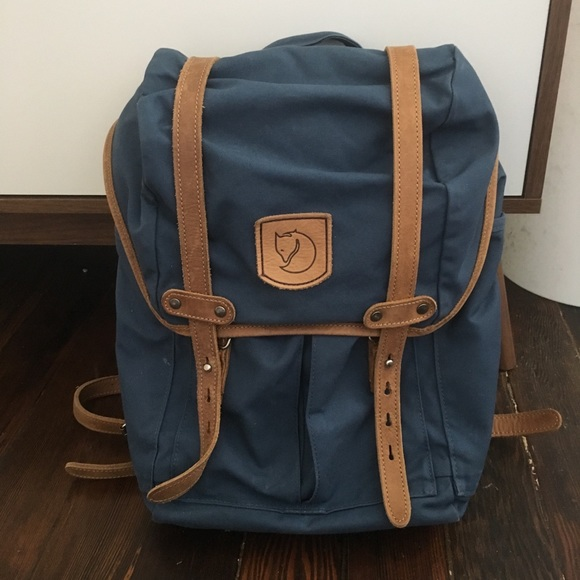 8509bf1c8a7f Fjallraven Handbags - Fjallraven no 21 small rucksack uncle blue